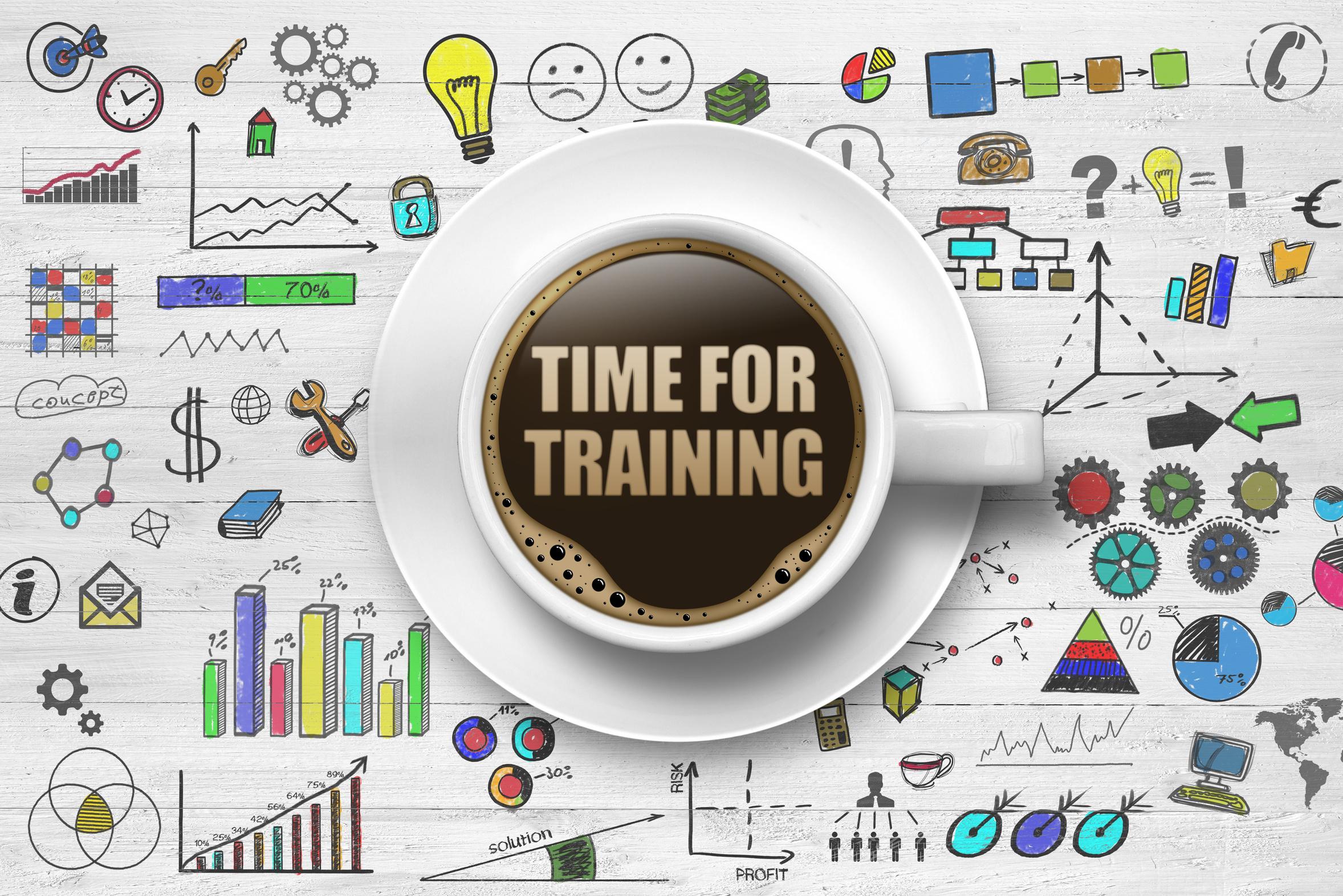 Zeit für Training